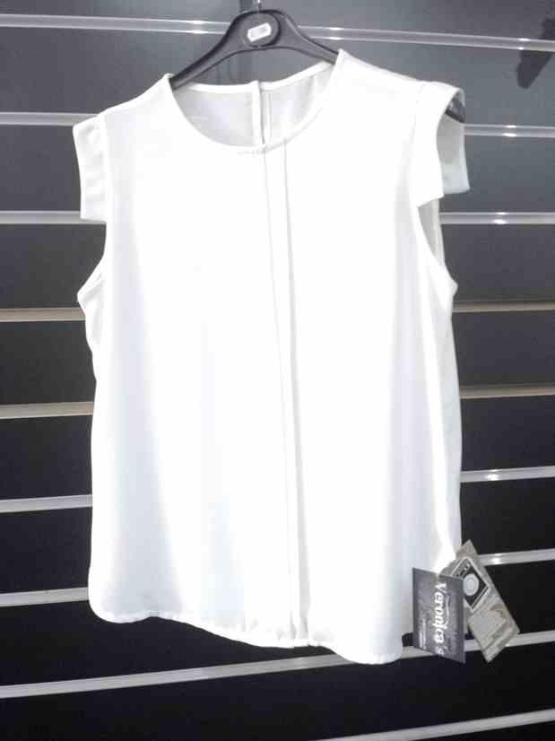 Blusa Vestir Blanca Veronicas