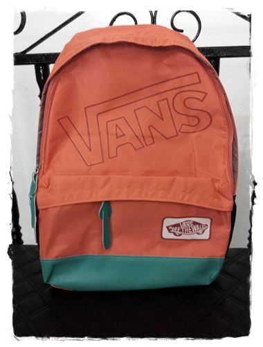 mochilas vans of the wall verde